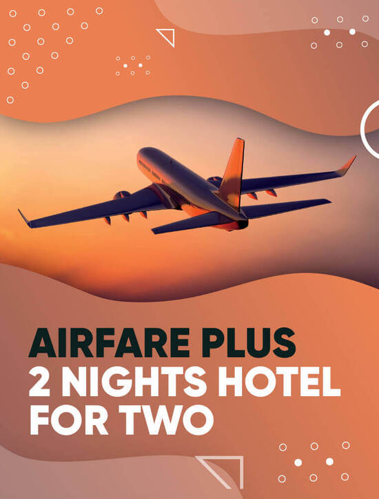 Airfare & Hotel For Two