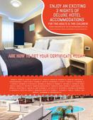 3 Night Hotel Stay